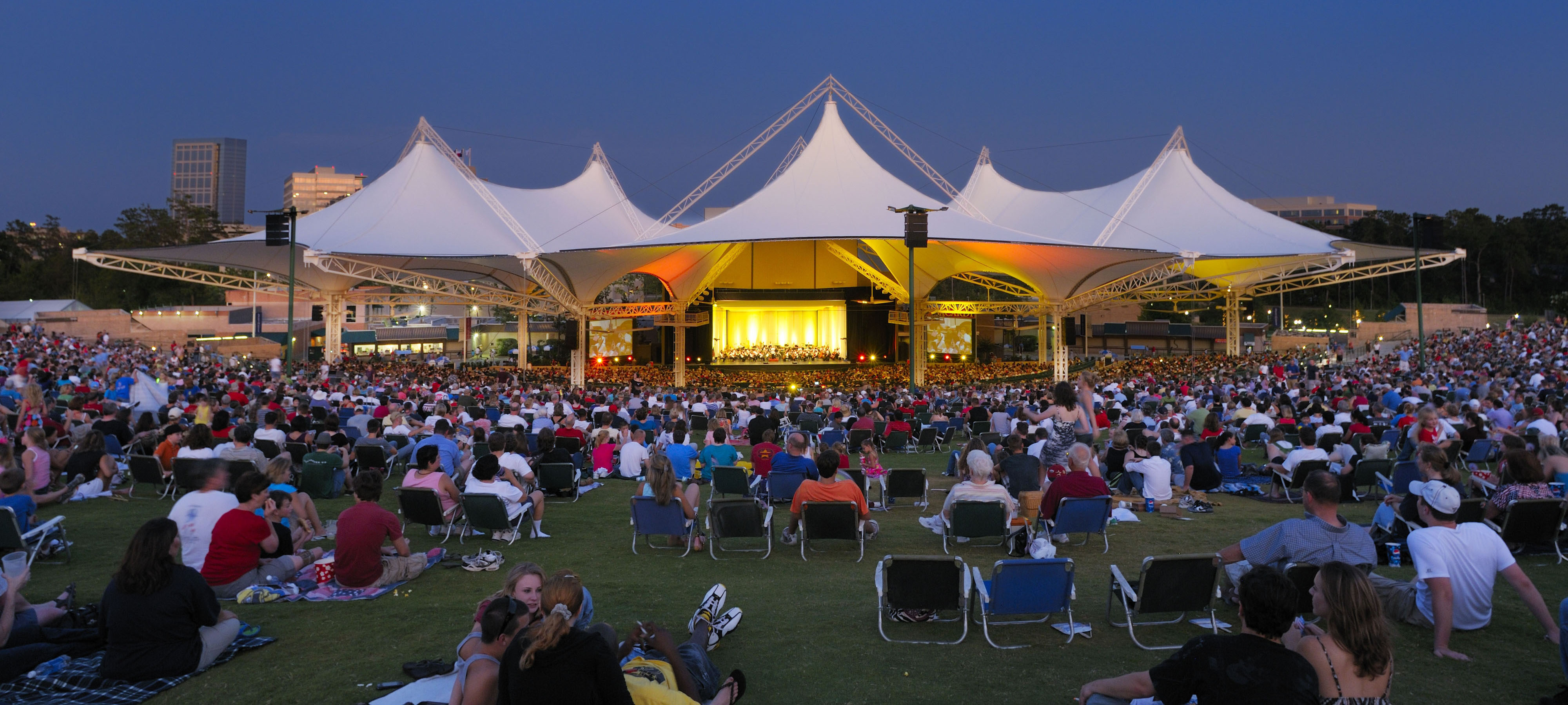 updates to come for cynthia woods mitchell pavilion | harpers preserve