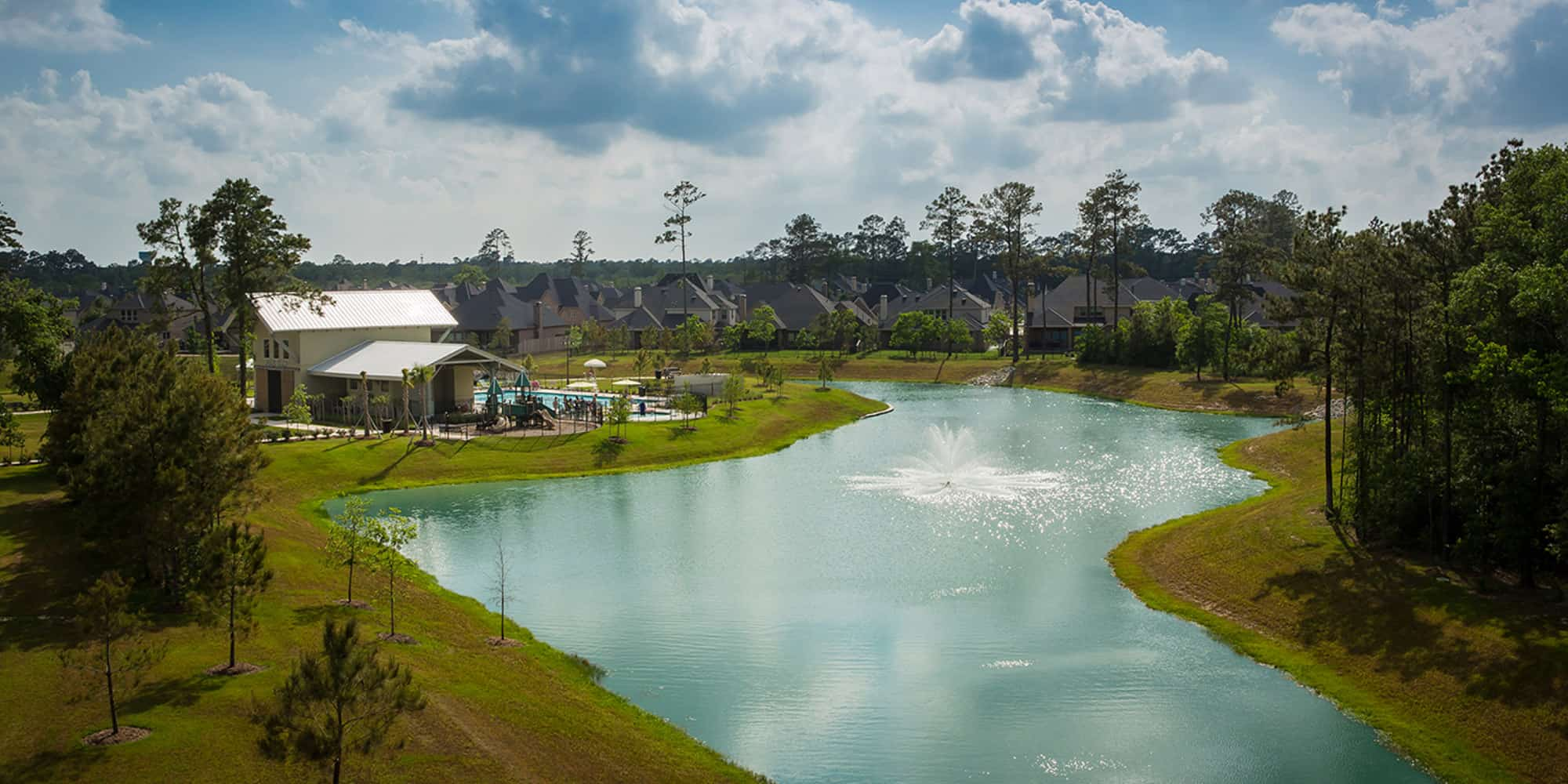 Commercial property development at Harper's Preserve in Conroe, TX