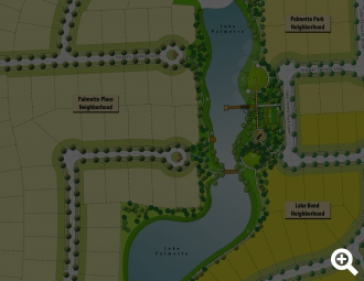 East Village Lake Palmetto Park Plan